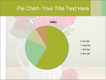 Rose flower bouquet PowerPoint Template - Slide 36