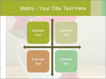 Rose flower bouquet PowerPoint Template - Slide 37