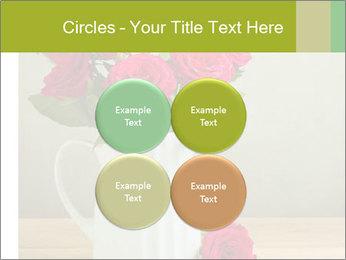 Rose flower bouquet PowerPoint Template - Slide 38