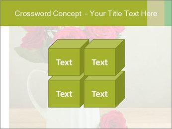 Rose flower bouquet PowerPoint Template - Slide 39