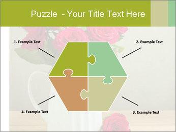Rose flower bouquet PowerPoint Template - Slide 40