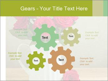 Rose flower bouquet PowerPoint Template - Slide 47