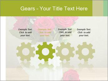 Rose flower bouquet PowerPoint Template - Slide 48