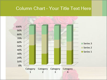 Rose flower bouquet PowerPoint Template - Slide 50