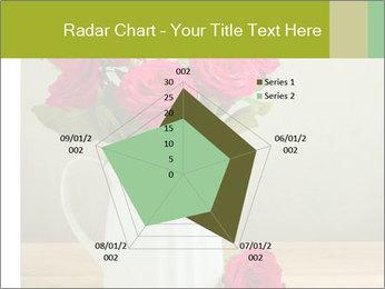 Rose flower bouquet PowerPoint Template - Slide 51