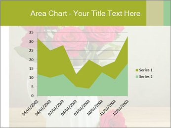 Rose flower bouquet PowerPoint Template - Slide 53