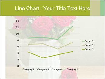 Rose flower bouquet PowerPoint Template - Slide 54