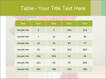 Rose flower bouquet PowerPoint Template - Slide 55