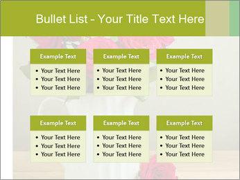 Rose flower bouquet PowerPoint Template - Slide 56
