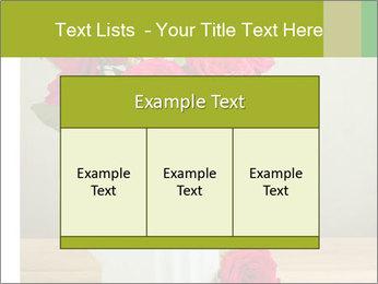 Rose flower bouquet PowerPoint Template - Slide 59