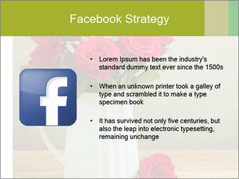 Rose flower bouquet PowerPoint Template - Slide 6