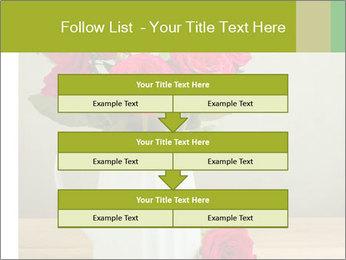 Rose flower bouquet PowerPoint Template - Slide 60