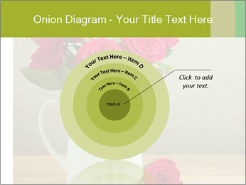 Rose flower bouquet PowerPoint Template - Slide 61