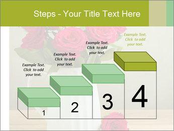 Rose flower bouquet PowerPoint Template - Slide 64