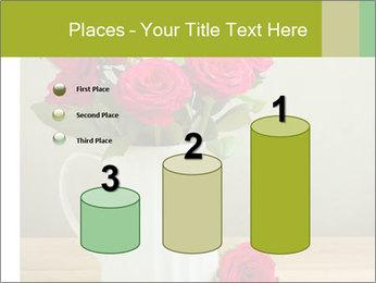 Rose flower bouquet PowerPoint Template - Slide 65