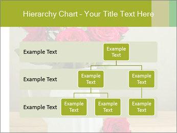 Rose flower bouquet PowerPoint Template - Slide 67