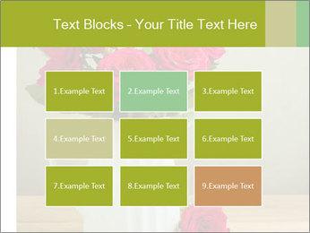 Rose flower bouquet PowerPoint Template - Slide 68