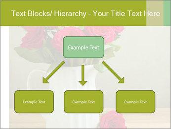 Rose flower bouquet PowerPoint Template - Slide 69