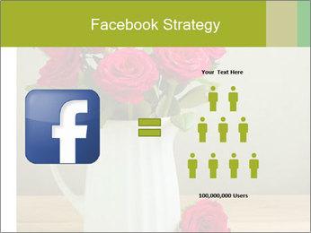 Rose flower bouquet PowerPoint Template - Slide 7
