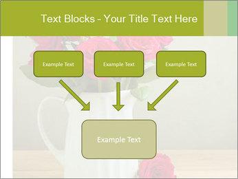 Rose flower bouquet PowerPoint Template - Slide 70