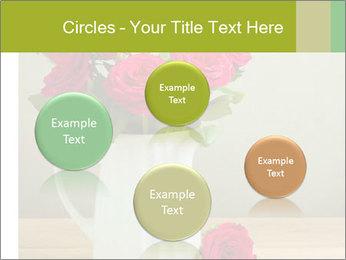 Rose flower bouquet PowerPoint Template - Slide 77