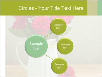 Rose flower bouquet PowerPoint Template - Slide 79