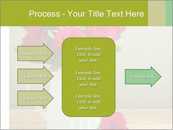 Rose flower bouquet PowerPoint Template - Slide 85