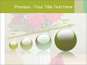 Rose flower bouquet PowerPoint Template - Slide 87