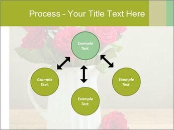 Rose flower bouquet PowerPoint Template - Slide 91