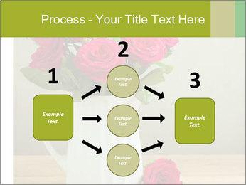 Rose flower bouquet PowerPoint Template - Slide 92