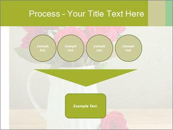 Rose flower bouquet PowerPoint Template - Slide 93