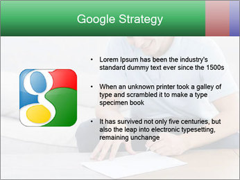 Man writing on a paper PowerPoint Templates - Slide 10