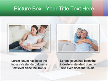 Man writing on a paper PowerPoint Templates - Slide 18