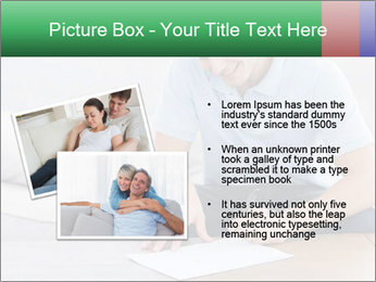 Man writing on a paper PowerPoint Templates - Slide 20