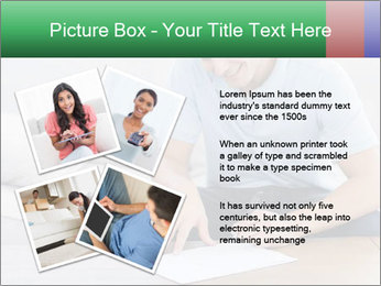 Man writing on a paper PowerPoint Templates - Slide 23