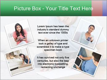 Man writing on a paper PowerPoint Templates - Slide 24