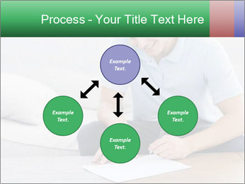 Man writing on a paper PowerPoint Templates - Slide 91