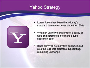 Space shuttle taking off on a mission PowerPoint Templates - Slide 11