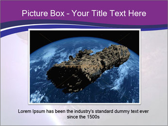 Space shuttle taking off on a mission PowerPoint Templates - Slide 15