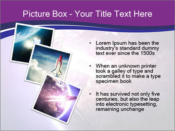 Space shuttle taking off on a mission PowerPoint Templates - Slide 17