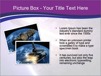 Space shuttle taking off on a mission PowerPoint Templates - Slide 20