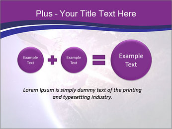 Space shuttle taking off on a mission PowerPoint Templates - Slide 75