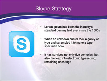 Space shuttle taking off on a mission PowerPoint Templates - Slide 8