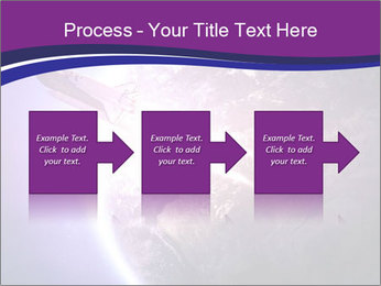 Space shuttle taking off on a mission PowerPoint Templates - Slide 88