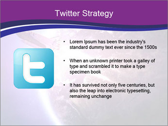 Space shuttle taking off on a mission PowerPoint Templates - Slide 9