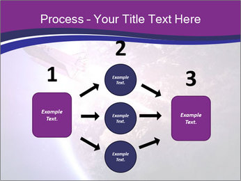 Space shuttle taking off on a mission PowerPoint Templates - Slide 92