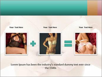 Wearing bra PowerPoint Templates - Slide 22