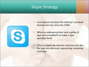 Wearing bra PowerPoint Templates - Slide 8