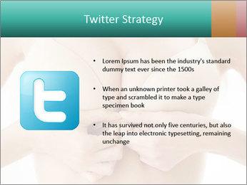 Wearing bra PowerPoint Templates - Slide 9