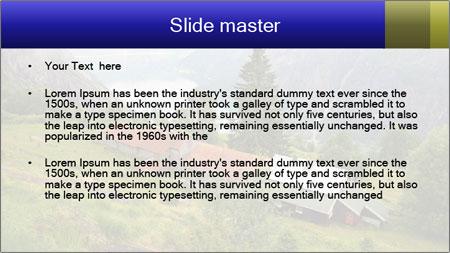 Kjeasen farm PowerPoint Template - Slide 2